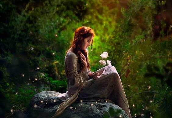 Donna-nel-bosco
