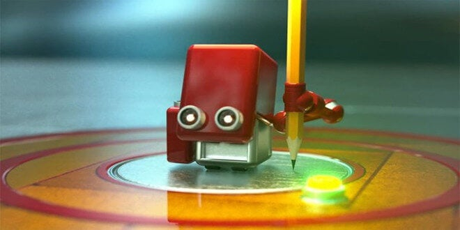 Robot-rosso