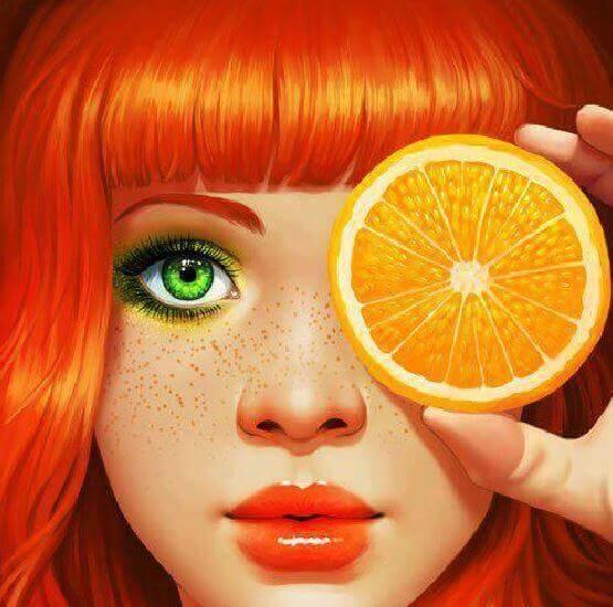 donna arancia