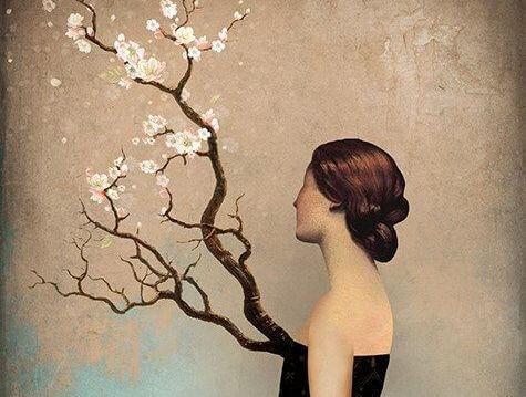 donna-con-albero