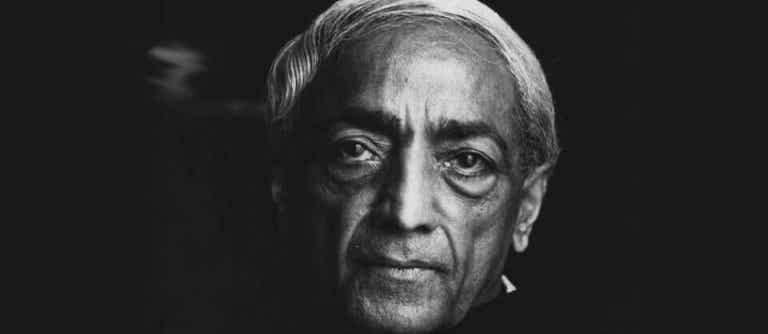 Pensieri di Krishnamurti per riflettere su noi stessi