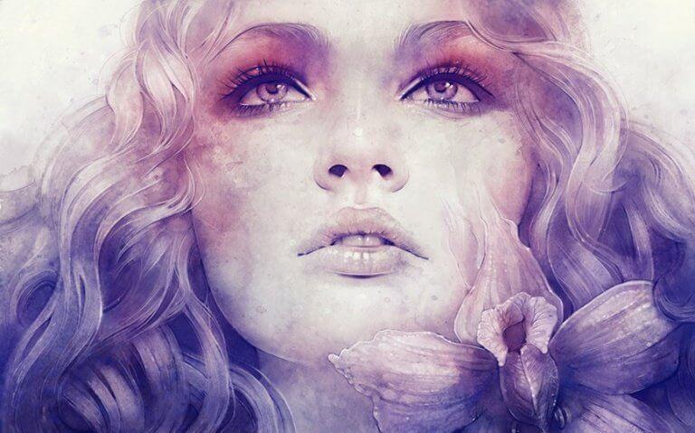 occhi di donna triste lacrime