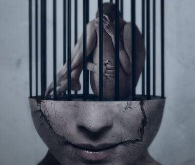 persona imprigionata nella mente