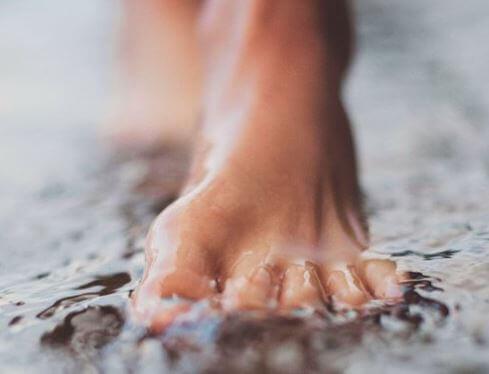 piede-acqua