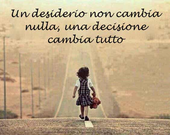 Io sono io, la mia circostanza e le mie decisioni mi definiscono
