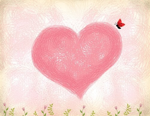 cuore e farfalla