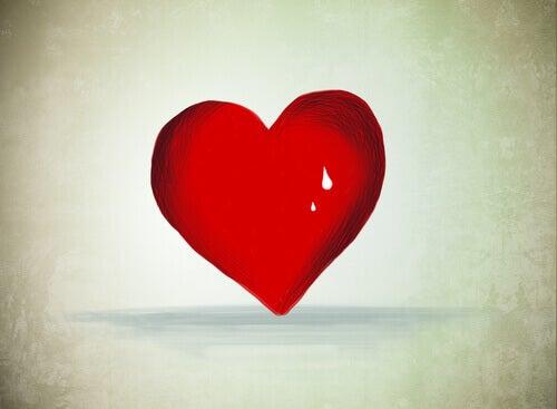 cuore e lacrima