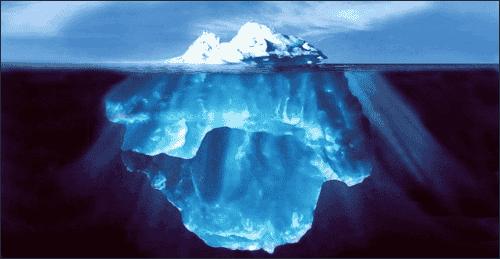 La teoria dell'icerberg e le nostre decisioni