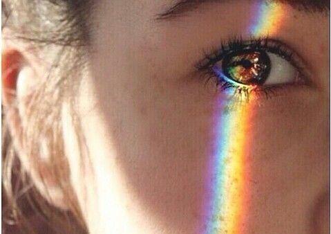 Occhio e arcobaleno