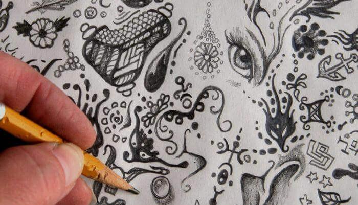 Conoscete il significato degli scarabocchi che fate sovrappensiero?