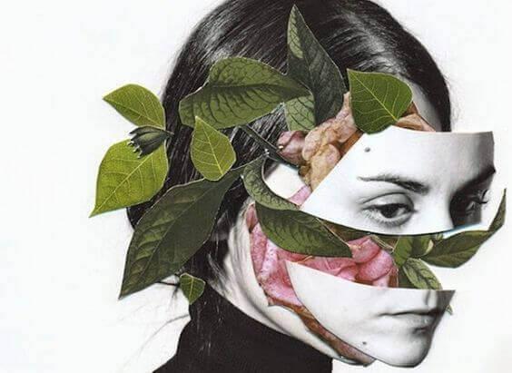 Donna-fiori-sul-viso