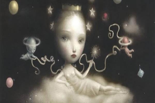 bambino con stelle
