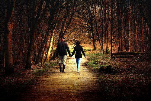 camminare in coppia