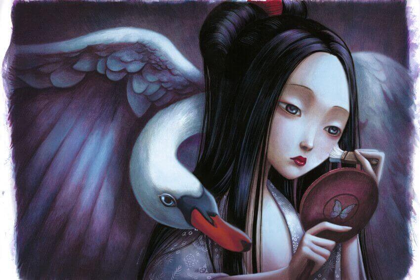 donna-infelice-allo-specchio