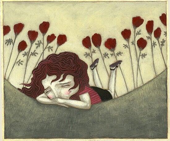 ragazza-triste-per-terra