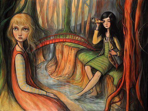 ragazze-sedute-di-fianco-al-fiume