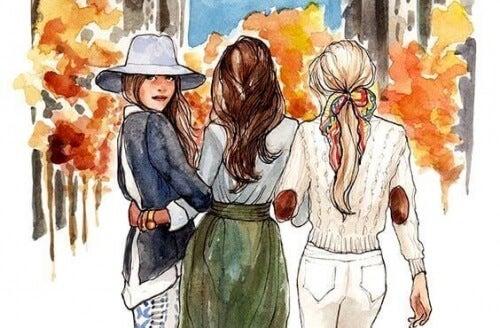 Tra sorelle la distanza non conta: è il cuore ad unirle