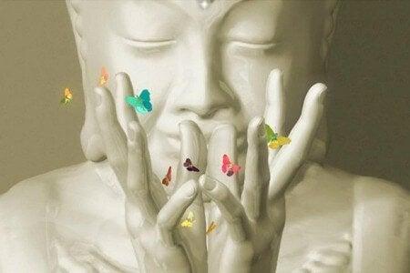 Buddha-con-farfalle