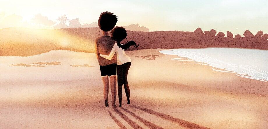 Innamorati-sulla-spiaggia
