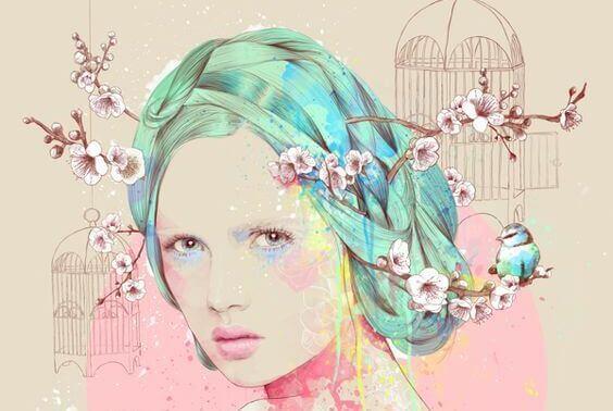 Ragazza-con-fiori-sui-capelli