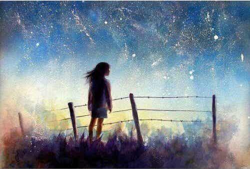 Abbiate sempre un'ambizione che illumini la vostra vita