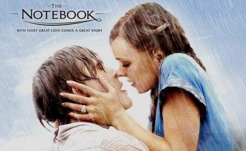 notebook locandina le pagine della nostra vita