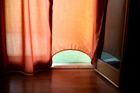 tenda arancione