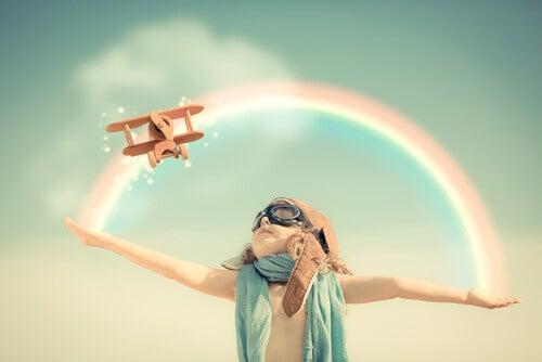 bambina-pilota