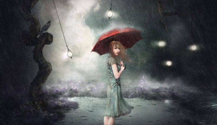 donna-con-ombrello