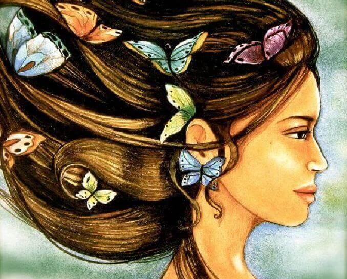 donna-e-farfalle