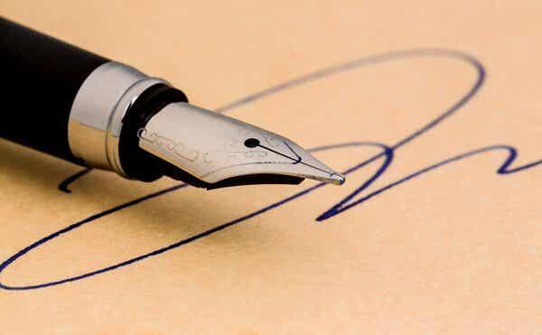Cosa dice la vostra firma di voi?