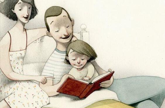 Leggete ai vostri figli un libro prima di dormire, non fate guardare loro la TV