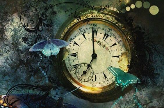 orologio-e-farfalle tempo
