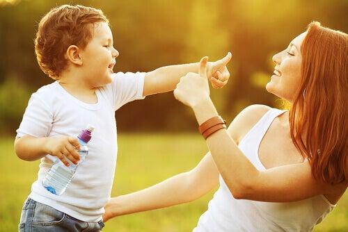 La disciplina positiva per educare figli felici