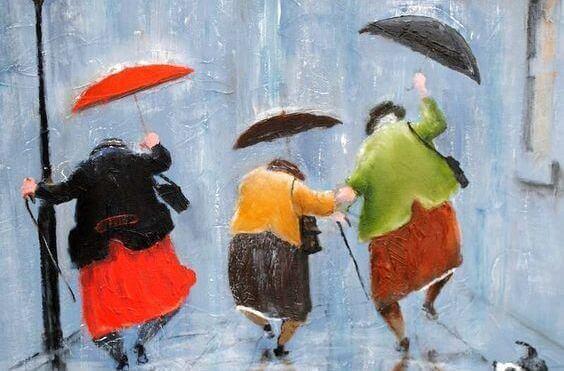 amiche-anziane-con-ombrelli