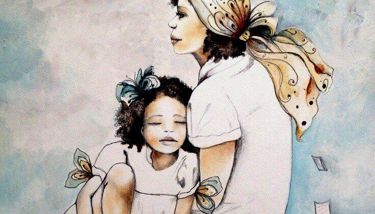 donna-con-bambina