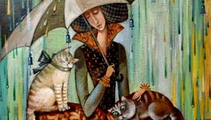 donna-con-gatti