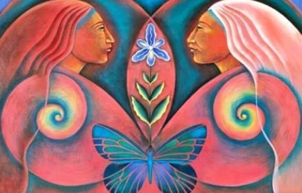 donne-con-farfalla