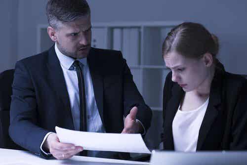 Mobbing: molestie psicologiche sul lavoro