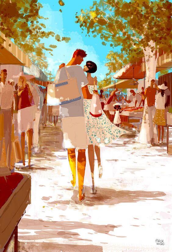 coppia-felice-al-mercato