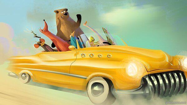 animali-in-macchina