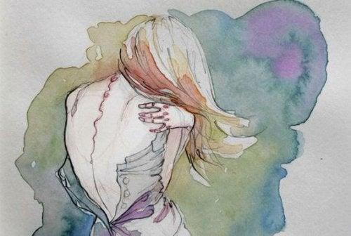 donna-che-si-abbraccia
