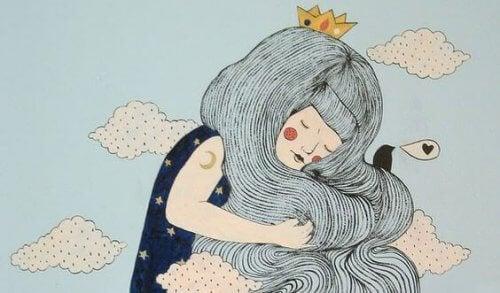 illustrazione-principessa-tra-le-nuvole