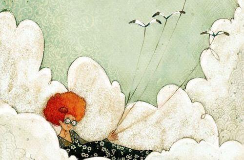 ragazza-seduta-tra-le-nuvole