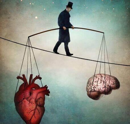 uomo-bilancia-tra-mente-e-cuore