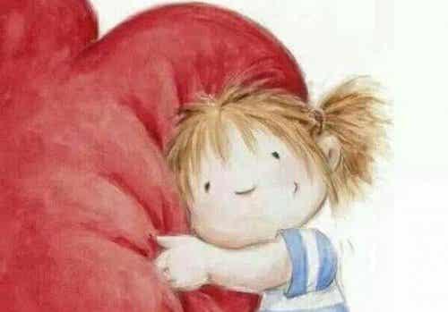 Il cuore ha bisogno di vitamine A, B e D: abbracci, bontà e dolcezza