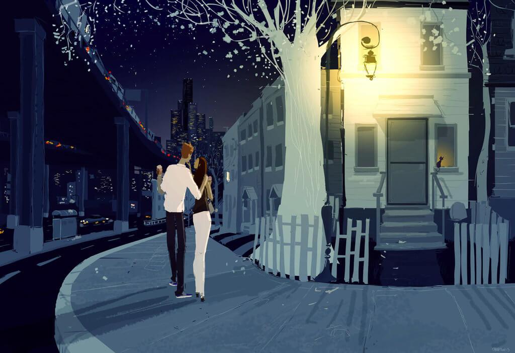 coppia-passeggia-di-notte