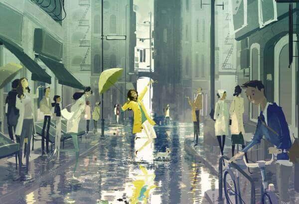 donna-sotto-pioggia