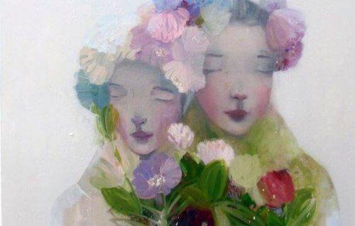 donne-con-fiori