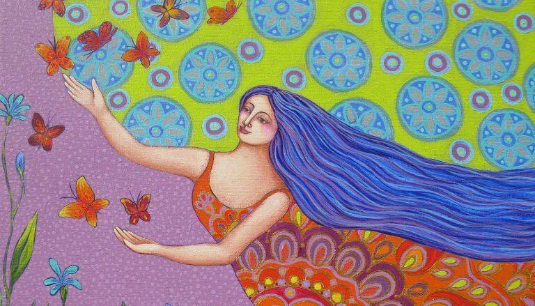 donna-che-rincorre-farfalle